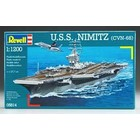 Revell of Germany . RVL 1/1200 USS NIMITZ