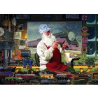 Cobble Hill . CBH Santa's Hobby 1000Pc Puzzle