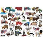Cobble Hill . CBH COW PARADE 1000 PC PUZZLE