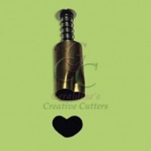 Creative Cutters . CRC PLUNGER STYLE HEART
