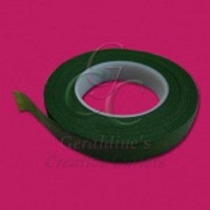 "Creative Cutters . CRC FLORAL TAPE 1/2"""" GREEN"