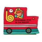 Melissa & Doug . M&D FIREFIGHTER FRED CLOTH BOOK