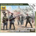 Zvezda Models . ZVE 1/72 SOVIET MILITIA 1941