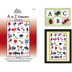 Quilled Creations . QUI A-Z COLLECTION QUILLING KIT