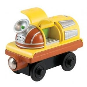 Tomy . TMY WOOD ACTION CHUGGER MOBILE CAR