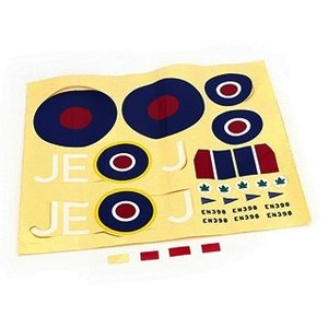 Park Zone . PKZ DECAL SHEET SPITFIRE MKIX