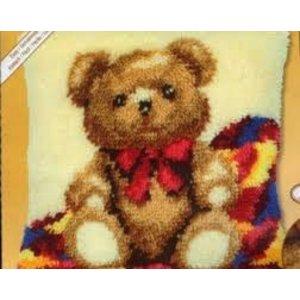 EURO CRAFTS . ECS LATCH HOOK - TEDDY BEAR