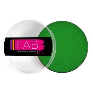 Fab . FAB AQUACOLOR FLASH GREEN 45GM FACE & BODY PAINT