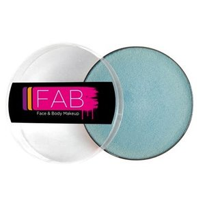Fab . FAB AQUACOLOR PEARL BLUE SHIMMER 45GM FACE & BODY PAINT