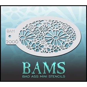 BAD ASS STENCILS . BAS MINI STENCIL 2006