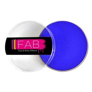 Fab . FAB AQUACOLOR BRILLIANT BLUE 45GM FACE & BODY PAINT