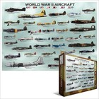 Eurographics Puzzles . EGP WWII AIRCRAFT PUZZ 1000PC