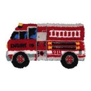 MCG Textiles . MCG FIRE TRUCK LATCH HOOK