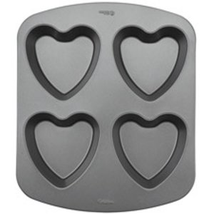 Wilton Products . WIL MINI HEART CAKE PAN