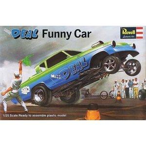 Revell Monogram . RMX 1/25 MISS DEAL FUNNY CAR