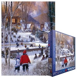 Eurographics Puzzles . EGP HOCKEY SEASON PUZZ 1000PC