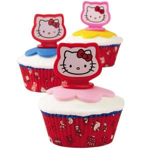 Wilton Products . WIL HELLOW KITTY TOPPERS