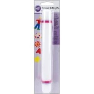 "Wilton Products . WIL FONDANT ROLLING PIN 9""X1"