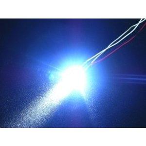 3 Racing . 3RC 3mm Flash Led Lghts Blue