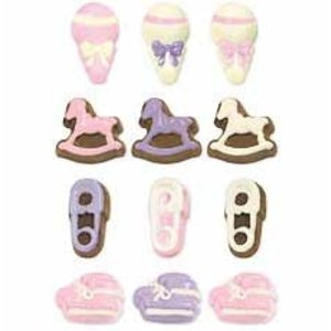 Wilton Products . WIL MOLD CANDY BABY SHOWER