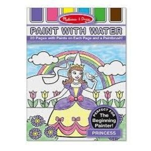 Melissa & Doug . M&D PRINCESS PAINT WITH WATER
