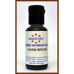 AmericaColor . AME AMERIMIST WARM BROWN .65 OZ
