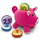 Melissa & Doug . M&D PIGGY BANK PLAYSET