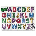 Melissa & Doug . M&D SEE -INSIDE ALPHABET PEG