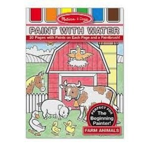 Melissa & Doug . M&D FARM ANIMALS PAINT WITH WATER
