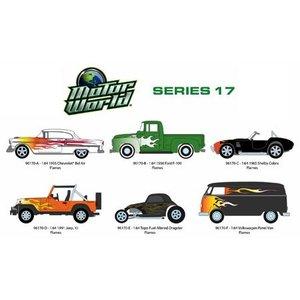 Green Light Collectibles . GNL 1/64 MOTOR WORLD SERIES 17