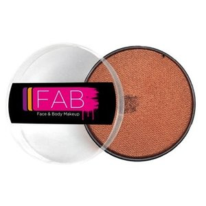 Fab . FAB AQUACOLOR NUT BROWN SHIMMER 45GM FACE & BODY PAINT