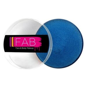 Fab . FAB AQUACOLOR SAPPHIRE SHIMMER 45GM FACE & BODY PAINT