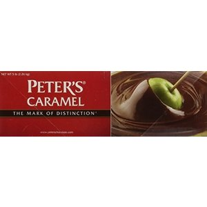 Peter's Chocolate . PET PETERS CARAMEL LOAF