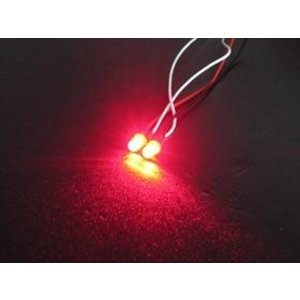 3 Racing . 3RC 5mm Led Light Set –Red
