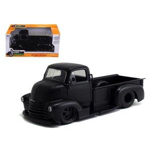 Jada Toys . JAD 1/24 52 CHEV COE P/U PRIME BLK