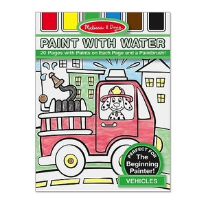 Melissa & Doug . M&D VEHICLES PAINT WITH WATER