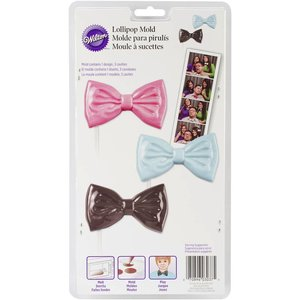 Wilton Products . WIL CANDY MOLD - BOW