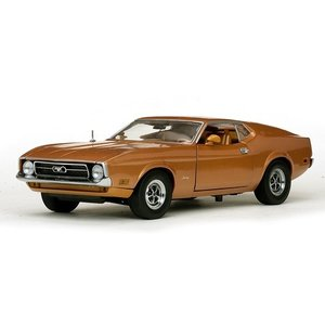 Sun Star Diecast . SUS 1/18 '71 FORD MUSTANG BRN