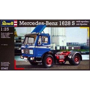 Revell of Germany . RVL 1/25 MERCEDES 1628 W/SPOILER