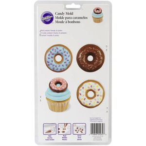 Wilton Products . WIL CANDY MOLD - DONUT