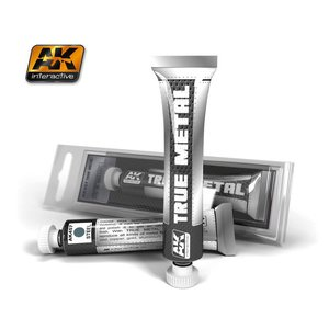 A K Interactive . AKI TRUE METAL WAX STEEL 20ML