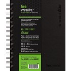 Bee Paper Company . BEE 5.5X8 HVY WGHT DRAW PAPER