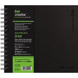 Art Advantage . ART 8X8 AF 160LB 35 SHTS BEE CREATIVE HVY WT DRAW