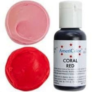 AmericaColor . AME AMERICOLOR CORAL RED .75