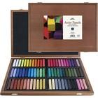 Pro Art . PAT SQ ART PASTEL 72PC W/WOOD BOX