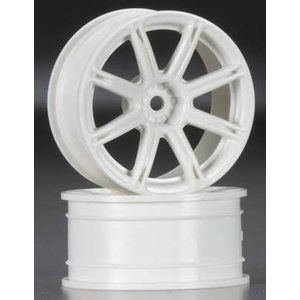 Hobby Products Intl. . HPI WORK EMO XC8 WHL 26MM WHT