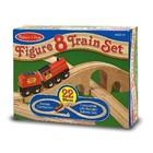 Melissa & Doug . M&D Wooden Figure 8 Train Set