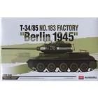 Academy Models . ACY 1/35 T34/85 BERLIN 1945