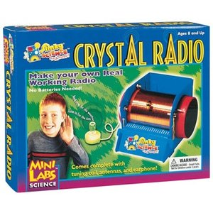 Slinky Science . SLY MINILAB CRYSTAL RADIO