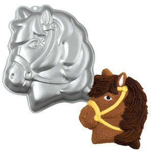Wilton Products . WIL PARTY PONY CAKE PAN